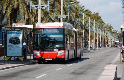 Autobus en Barcelona